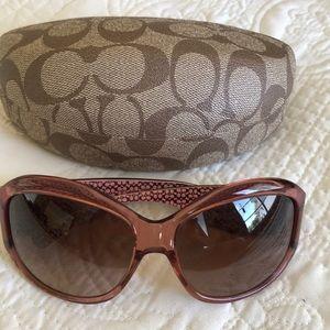 Coach Pink Sunglasses